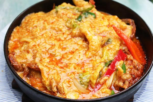 タイ料理ソフトシェルクラブ