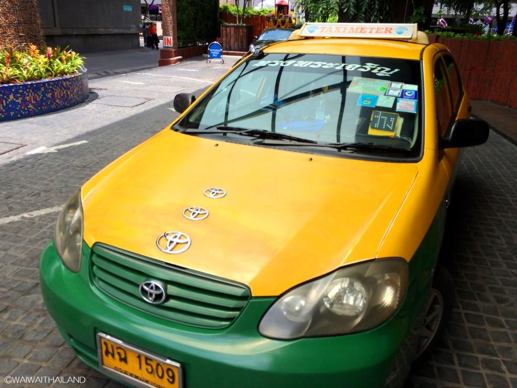 バンコクにいるTOYOTAファンの運転手さん