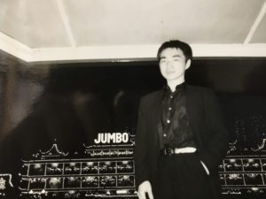 エンディ香港Jumboの前